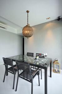 Vintage clean dining corner